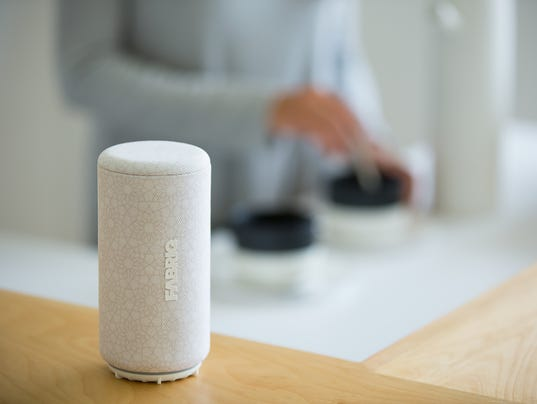 The Fabriq Chorus Alexa speaker.