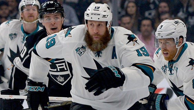 San Jose Sharks center Joe Thornton has remained an elite player even in his later 30s.