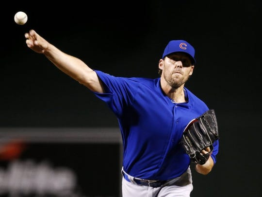 Abilene High's John Lackey won his third and final World Series title in 2016 with the Chicago Cubs. Lackey will be inducted into the Big Country Athletic Hall of Fame on Monday.