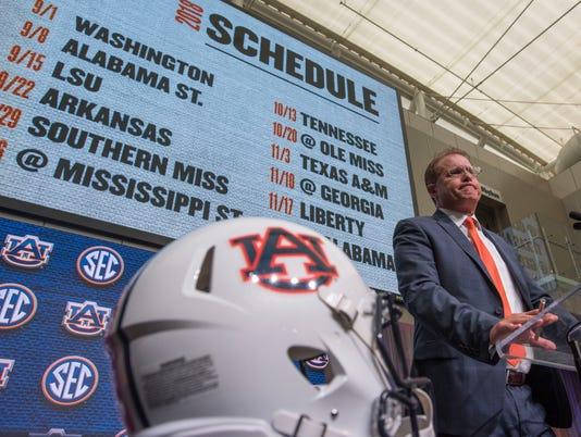 Auburn at SEC Football Media Days