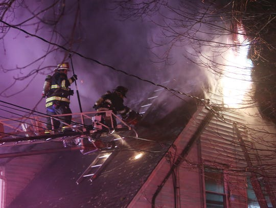 Croton Falls firefighters with help from neighboring