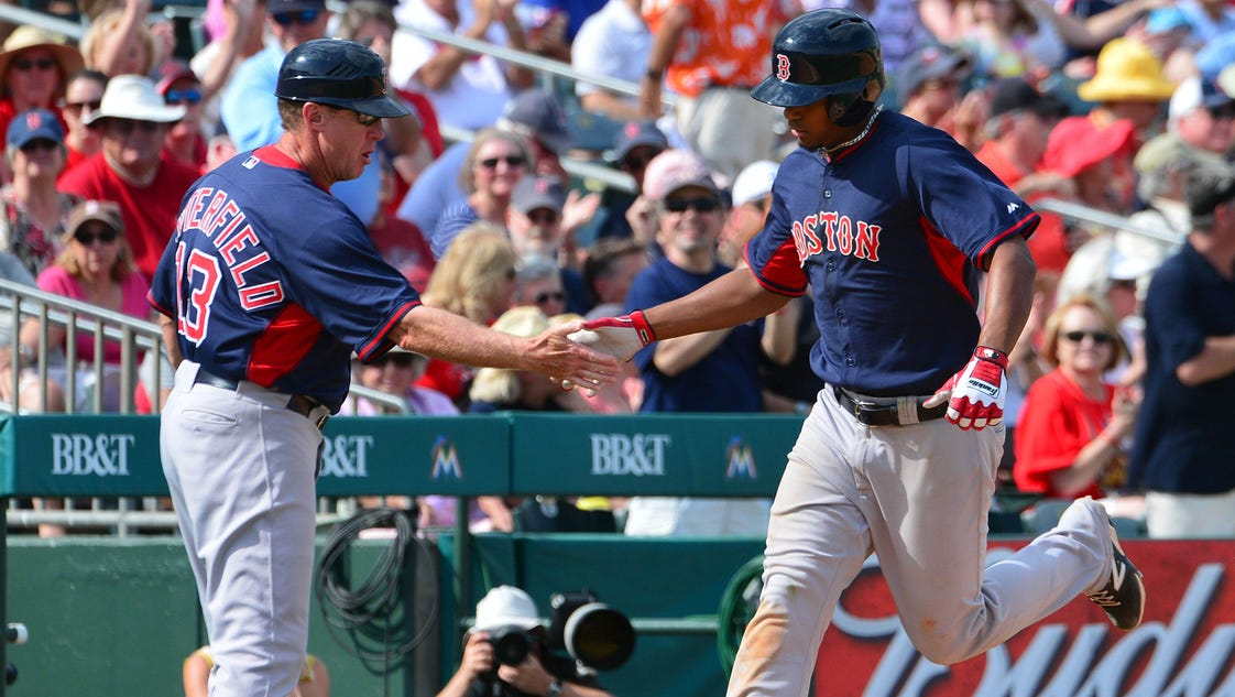 Hamilton, Bogaerts are this year's top fantasy rookies