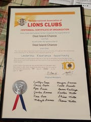 This charter makes official the creation of the Deal Island Chance Leo Club.