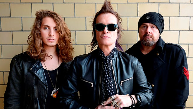 Power trio California Breed (Andrew Watt, left, Glenn Hughes and Jason Bonham) will release its self-titled debut album May 20 on Frontiers Records.