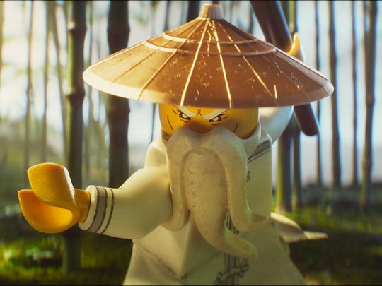"""Master Wu is part of the action in """"The LEGO Ninjago"""