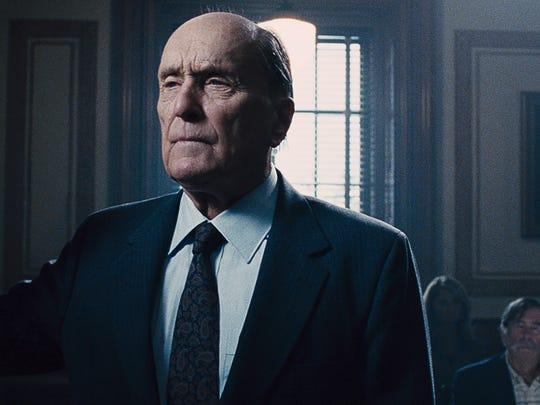 Robert Duvall plays Joseph Palmer, a judge whose son (Robert Downey, Jr.) defends him in a criminal trial.