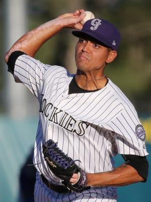 Garfield's Justin Valdespina is pitching his first full season of pro baseball in the Colorado Rockies' organization.