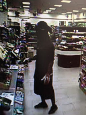 Suspect in an armed robbery at a Fort Myers 7-Eleven.