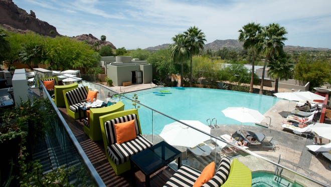 Sanctuary on Camelback Mountain Resort & Spa, Scottsdale: Considered one of the top resorts in the Southwest for nearly a decade, the serene yet sceney Sanctuary has the most desirable location in Scottsdale, overlooking Praying Monk Rock and the desert. There are hiking trails, bicycling and nature walks on the property, as well as tennis classes on championship courts. Personalized fitness programs are available from renowned fitness professionals.