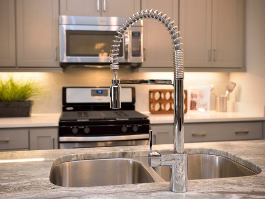 Plumbing fixtures are among the choices at The Jones