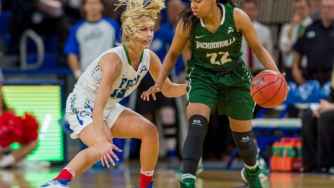 It will be crucial for FGCU senior point guard Jordin Alexander to again clamp down on Jacksonville senior guard Sherranda Reddick, an All-ASUN first-teamer who averages 16.8 points.