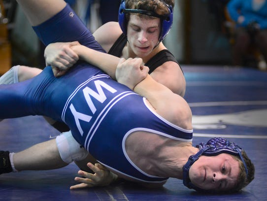 Kennard Dale's Andrew Barnett, top, will be one of