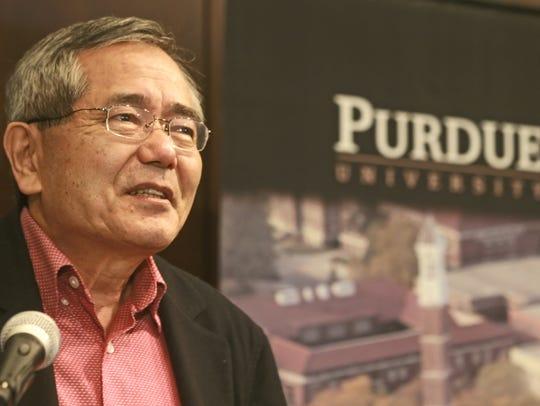 Purdue chemistry professor Ei-ichi Negishi