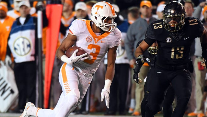 The Cincinnati Bengals selected Tennessee Volunteers receiver Josh Malone in the fourth round of the 2017 NFL Draft.