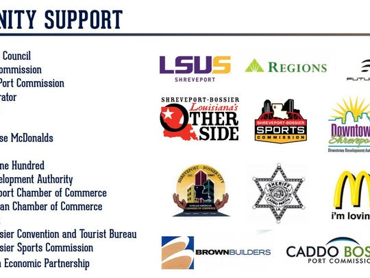 Page listing community supporters from Mayor Ollie
