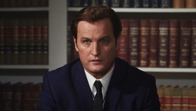 "Jason Clarke plays Ted Kennedy in ""Chappaquiddick."""