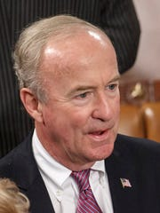 In this Sept. 18, 2014, file photo, Rep. Rodney Frelinghuysen, R-N.J., attends a joint meeting of Congress in the House chamber.