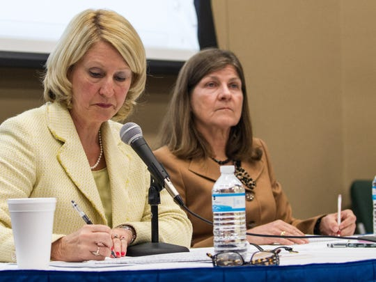 DOE Commissioner Pam Stewart said that aligning cut scores to NAEP proficiency level would be arbitrary.