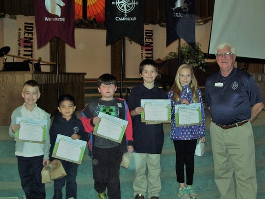 Six Imago Dei Academy students were placed on the school's