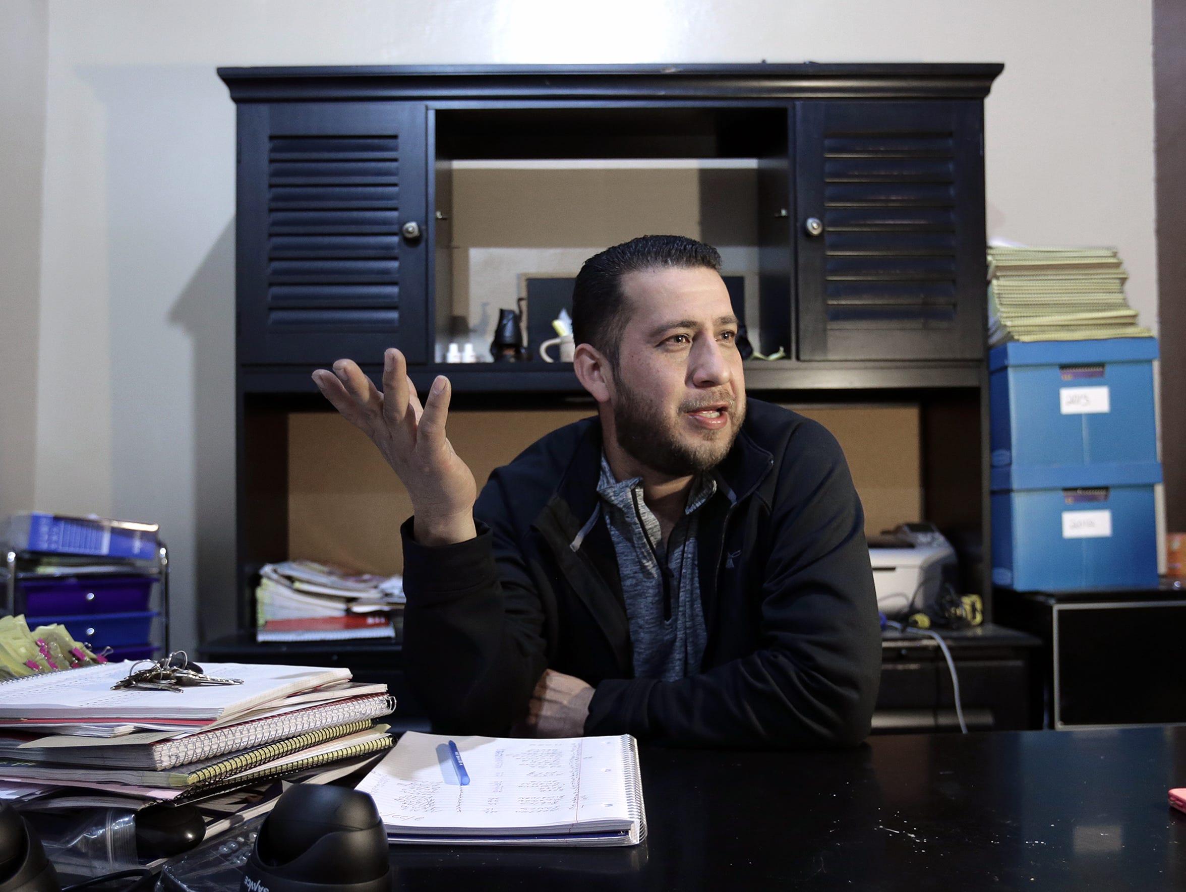 Jose Carranza owns El Tiradero Flea Market which lies