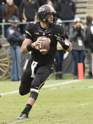 Purdue starting quarterback Austin Appleby has a strong connection to Marshall - his brother, Jake, is a redshirt freshman on the golf team