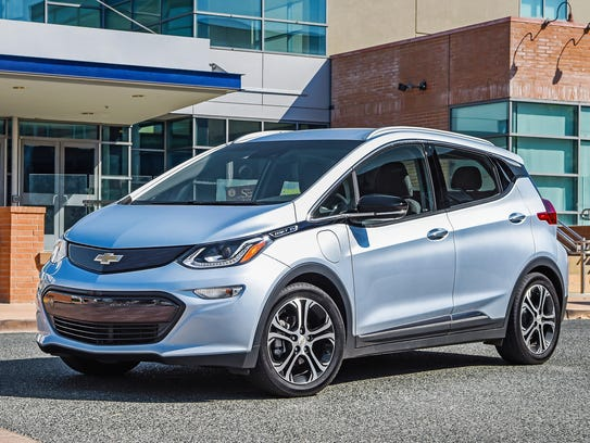 This photo provided by General Motors Co. shows the