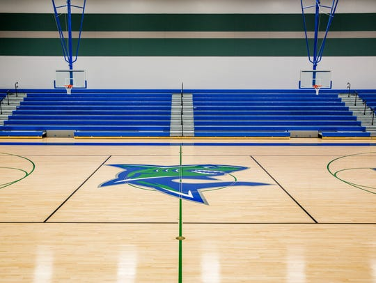 The gymnasium at the newly constructed Bonita Springs