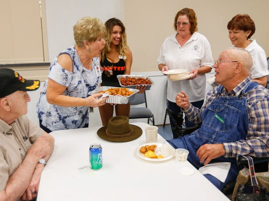 Elks Lodge #409 hosted residents from the Missouri