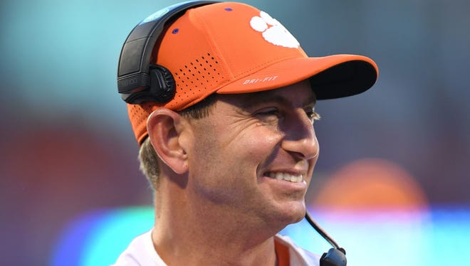 Clemson's Dabo Swinney will be among those in attendance at the South Carolina Coaches for Charity event July 26 at the Hyatt Regency in Downtown Greenville.