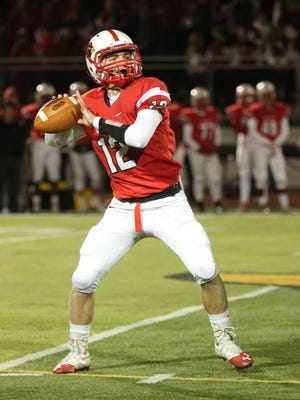 Westwood quarterback Sean Hopkins has accounted for 11 touchdowns in the Cardinals' two playoff games. Hopkins and Westwood will play Mahwah for the North 1, Group 2 title on Dec. 4.