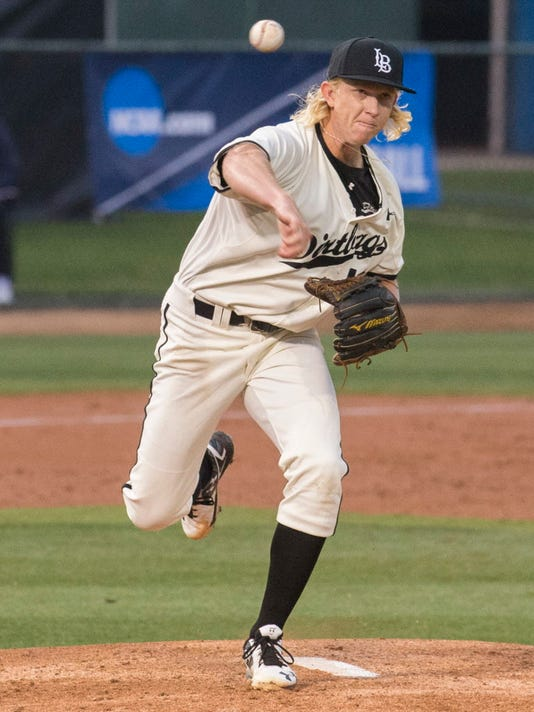 AP NCAA TEXAS LONG BEACH ST BASEBALL S BBC USA CA