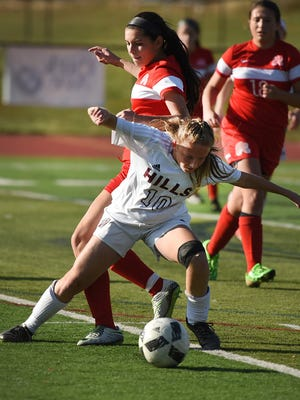 Madison Carlo (10) is part of a strong senior class for Wayne Hills.