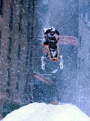 """Winter Gravity Games snowmobiling star Jay Quinlan"