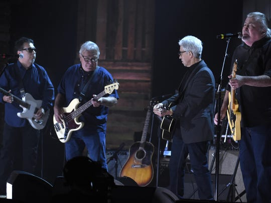 Los Lobos performs during the Americana Music Honors
