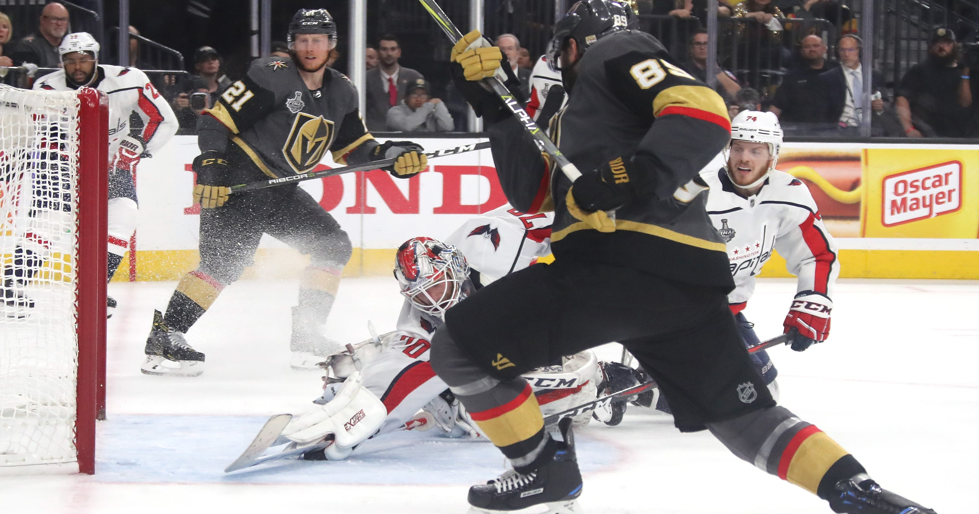 34cefdb95c3 Braden Holtby s sensational save preserves Capitals win in Game 2 of Stanley  Cup Final