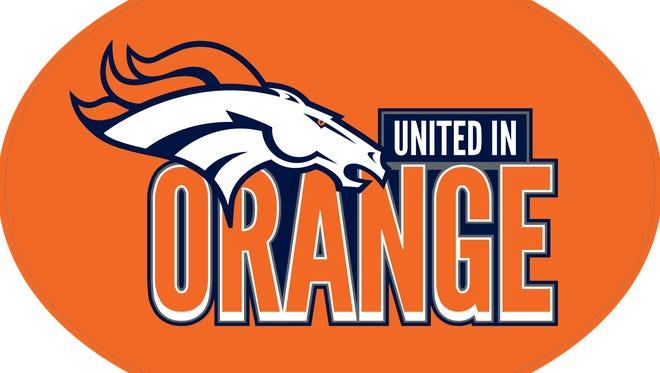 9News' United in Orange magnet