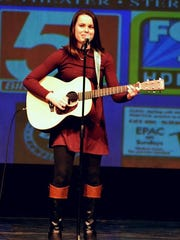Contestant Amy Hogan performs at last year's EPAC's