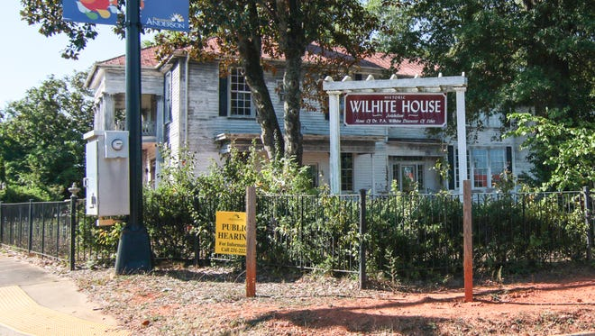 Work is planned at the Wilhite House on South McDuffie Street, one of Anderson's most well-known historic homes.