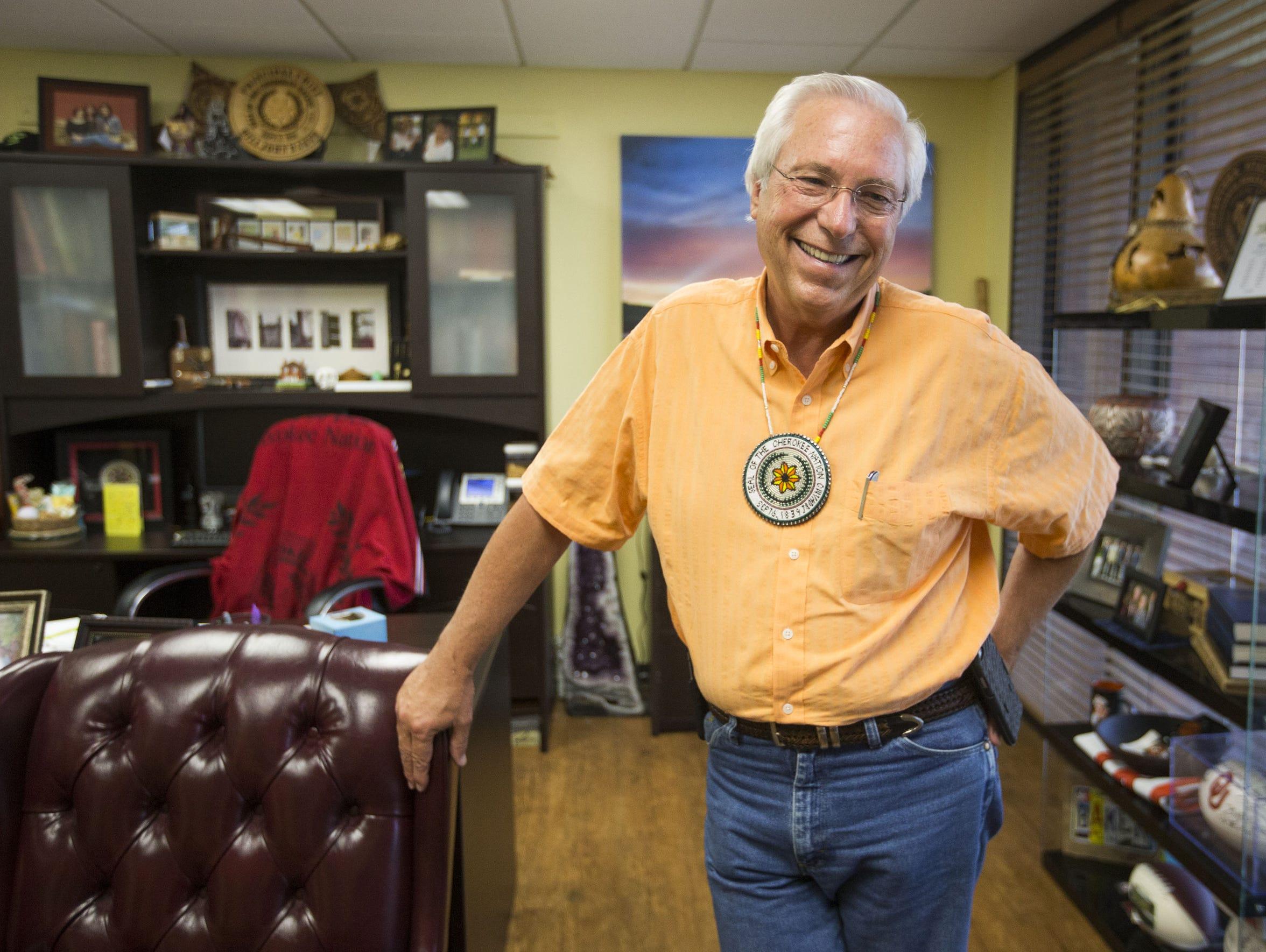 Cherokee Nation Chief Bill John Baker.