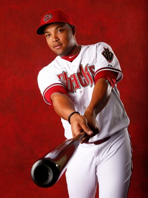 Yasmany Tomas at Arizona Diamondbacks picture day on Mar. 1, 2015, at Salt River Fields at Talking Stick. Tomas is a question mark for the D-Backs this year.