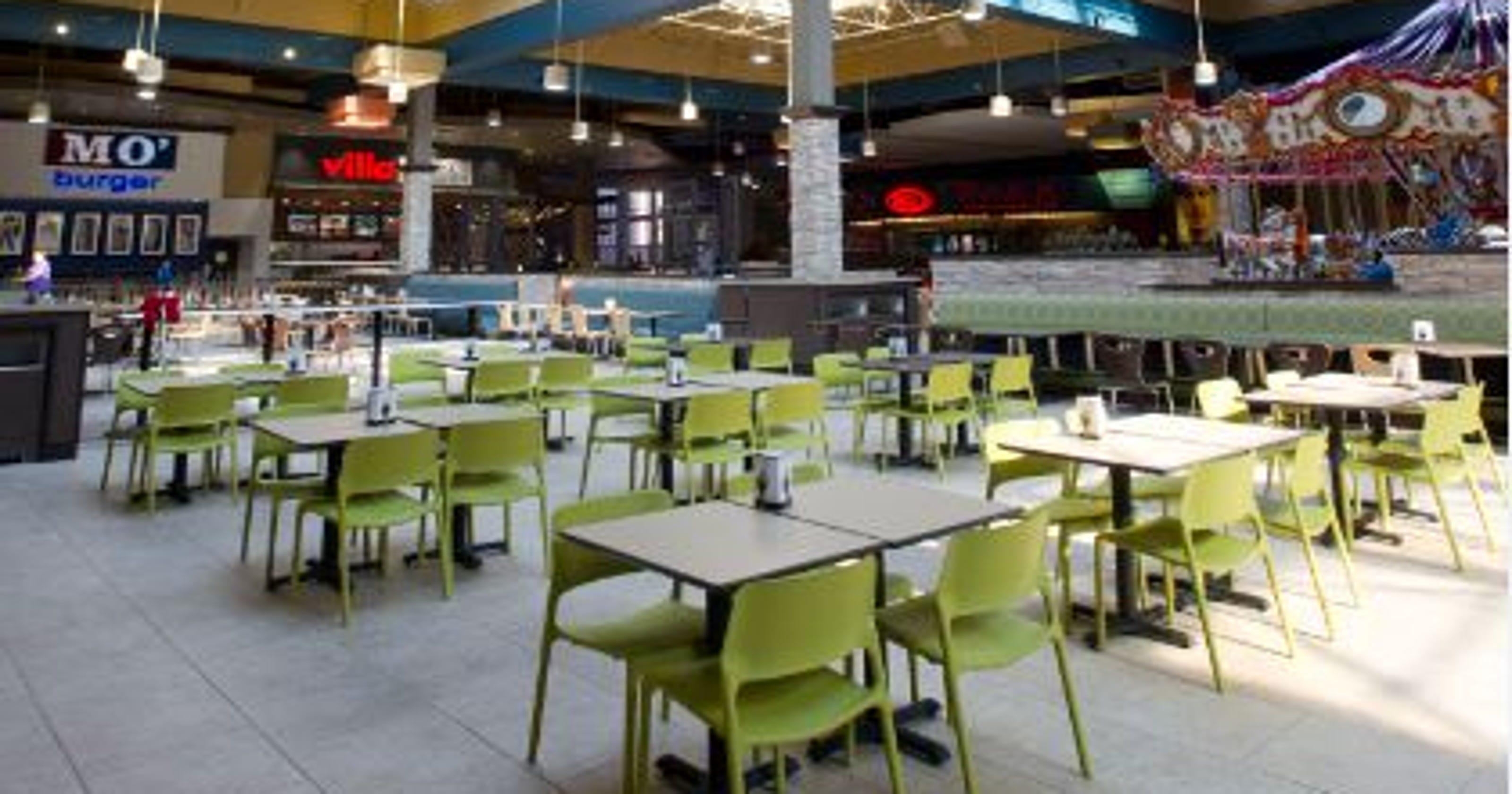 8 New Restaurants At Arizona Mills Renovated Food Court