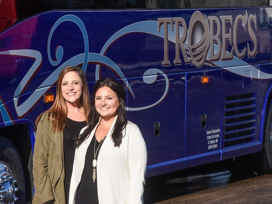 Dispatcher Becca Schubert and Vice President Bethany