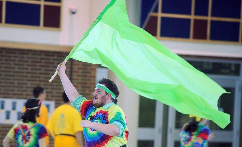 The Carmel Dance Marathon to benefit Riley Hospital was held in the Carmel High School Cafeteria Saturday February 22, 2014.