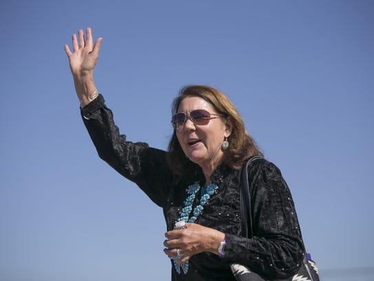 La congresista demócrata Ann Kirkpatrick emitió un