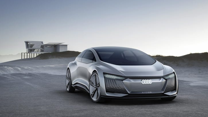 Audi shows the car of tomorrow — today