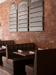 Cozy up in a booth for two at County Fare in Wappingers