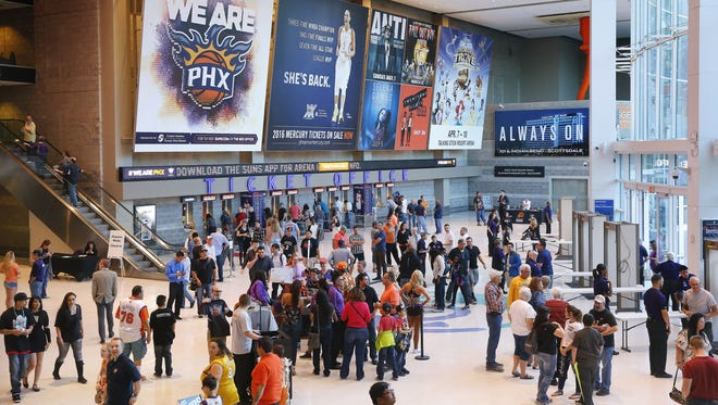 The Phoenix Suns play in one of the oldest arenas in the NBA. Phoenix now has to decide whether to build a new sports facility or rennovate the aging Talking Stick Resort Arena.