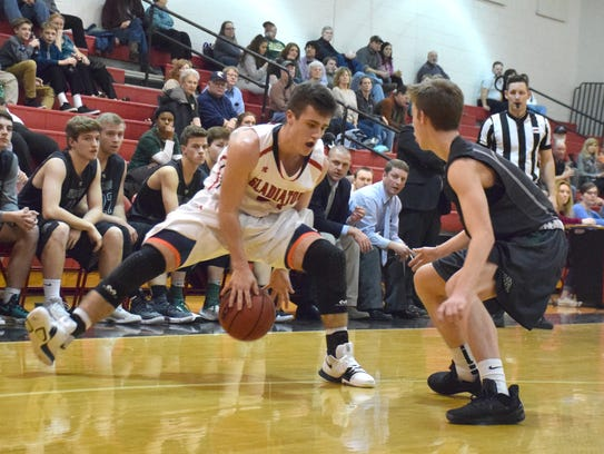 Riverheads' Grant Painter was named to the first team