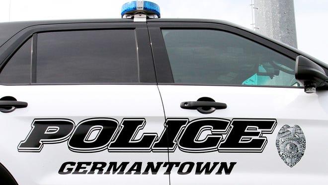 Germantown police squad car.