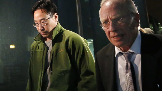 Glenn Chin, left, the head pharmacist at the now-closed New England Compounding Center, is charged in the deaths of 25 people.